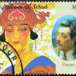Puccini Stamp - Stock Photo