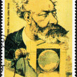 Jules Verne Stamp — Stock Photo