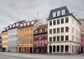 古いデンマークの通り — ストック写真