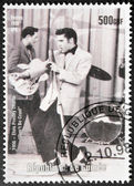Presley - Guinea Stamp — Stock Photo