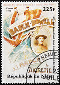 Lord Baden-Powell Stamp — Stock Photo