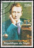 Marconi - Niger Stamp — Stock Photo