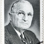 USA 8c Harry Truman Stamp — Stock Photo #13781523