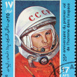 Gagarin Stamp — Stock Photo #13781525