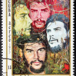 Che Guevara Stamp — Stock Photo