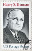 USA 8c Harry Truman Stamp — Stock Photo