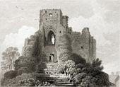 Carisbrooke Castle. — Stock Photo