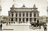 The Paris Opera Postcard — Stock Photo