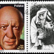 Picasso Stamp — Stock Photo