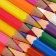 Stock Photo: Interlaced Crayons