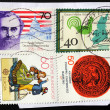 Stock Photo: Four GermStamps