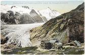 Pasterze ледник открытка — Стоковое фото