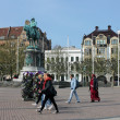 Malmo. Central Square. - Stock Photo