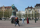 Malmo. Central Square. — Stock Photo