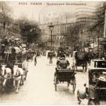 Montmartre Postcard — Stock Photo