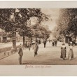 Unter den Linden Postcard - Stock Photo