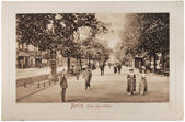 Unter den Linden Postcard — Stock Photo