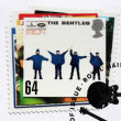 "Stock Photo: Beatles Album ""Help!"" Stamp."