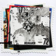 "Stock Photo: Beatles Album ""Revolver"" Stamp"