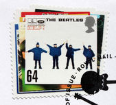 "Beatles Album ""Help!"" Stamp. — Stock Photo"