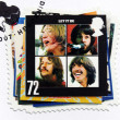 "Stock Photo: Beatles Album ""Let It Be"" Stamp"