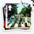 "Stock Photo: Beatles Album ""Abbey Road"" Stamp"