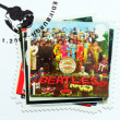 "Stock Photo: Beatles Album ""Sgt. Pepper's..."" Stamp."