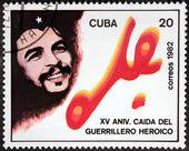 Che Stamp — Stock Photo
