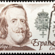 Philip IV Stamp — Foto de stock #26245309
