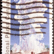 Yellowstone Stamp — Stock Photo