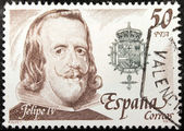 Philip IV Stamp — Stock Photo