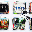 Stock Photo: Beatles Stamps