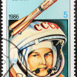 Tereshkova Stamp — Stock Photo