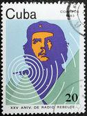 Che Guevara Stamp 1983 — Stock Photo