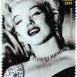 Marilyn Monroe - Niger Stamp 1 — Stock Photo