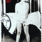 ������, ������: Marilyn Monroe Niger Stamp 5