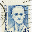 Harvey Cushing Stamp — Stock Photo