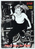 Marilyn Monroe - Niger Stamp 4 — Stock Photo