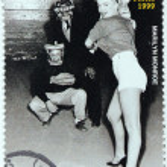 Постер, плакат: Marilyn Monroe Niger Stamp 7