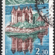 Chateau de Val Stamp — Stock Photo #28004581