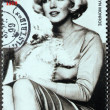 Marilyn Monroe - Niger Stamp 9 — Stock Photo #28227053