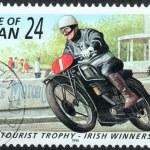Motor Sport Stamp 3 — Stock Photo