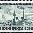 Brno Stamp — Stock Photo #29227957