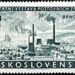 Brno Stamp — Stock Photo