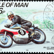 Motorcycle Race Stamp 1 — Stockfoto #29227961