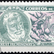 Stock Photo: Hemingway Stamp 2