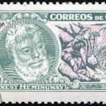 Hemingway Stamp 2 — Stock Photo
