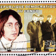 John Lennon Stamp — Stock Photo