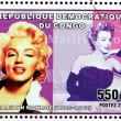 Marilyn Stamp 3 — Stock Photo