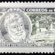 Hemingway Stamp 3 — Stock Photo